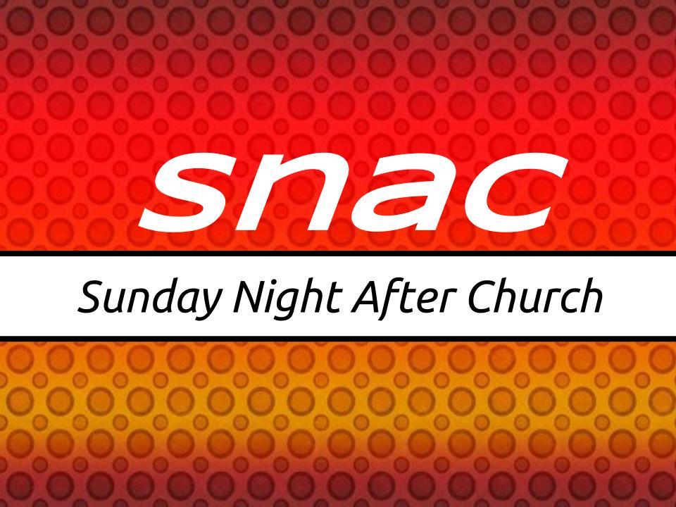 SNAC – First Baptist Church